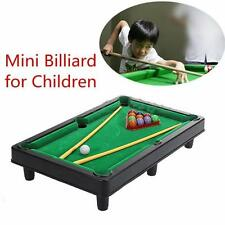 Mini Billiard Ball Snooker Tabletop Pool Table Top Desktop Game Set Toy Kid  Gift