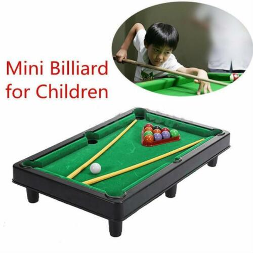 1 Of 1   Mini Billiard Ball Snooker Tabletop Pool Table Top Desktop Game  Set Toy