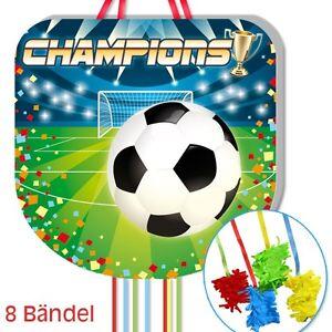 Fussball Pinata Zum Ziehen Als Fussballdeko Und Fur Fussballspiel Zum