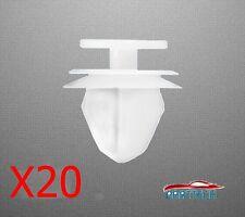 CITROEN BERLINGO C2 C3 C4 C5 C8 XSARA 2 TRIM PANEL FASTENER PLASTIC CLIPS x20