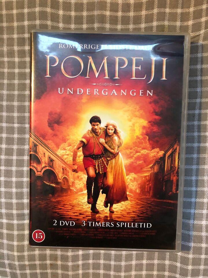 Pompeji, DVD, andet