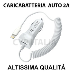 Carica-Batteria-da-Auto-per-Apple-iPhone-Lightning-8PIN-5-6-7-8-Plus-X-TOP-2-1A