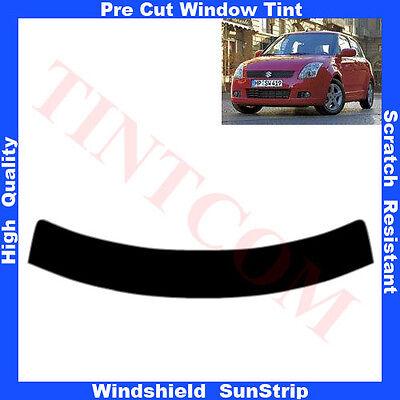 Window Tint Pre Cut Sunstrip Suzuki Swift 3-door 2004-2010