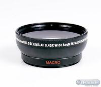 Zeikos Professional 0.45x Wide Angle Lens 58mm W/ Macro Titanium Optics