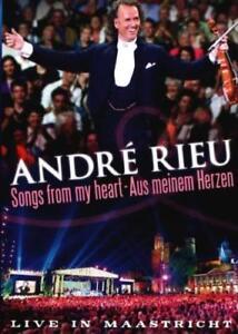 ANDRE-RIEU-Songs-From-My-Heart-Aus-Meinem-Herzen-DVD-BRAND-NEW-PAL-Region-0
