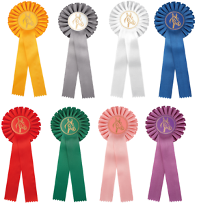 Pferdeschleifen Turnierschleife Siegerschleife Turnierschleifen Ø:115mm