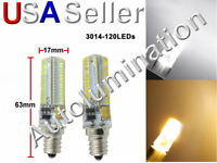 E12 120 Led 4w Smd Appliance Lights Bulb Lamp Dc12v-24v Replaces Wr02x12208