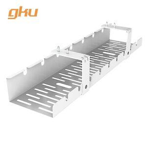 Gku Under Desk Cable Management Tray Cord Wire Organizer Wire Management Ac1011 Ebay