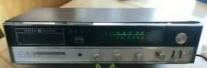General Electric GE AM/FM Stereo Receiver 8 Track Tape Player M8635A