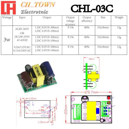Buck Step-down Convertisseur Climatisation-Courant Direct 3.3 5 V 9 V 12 V 15 V 24 V 36 V réglable Power Module