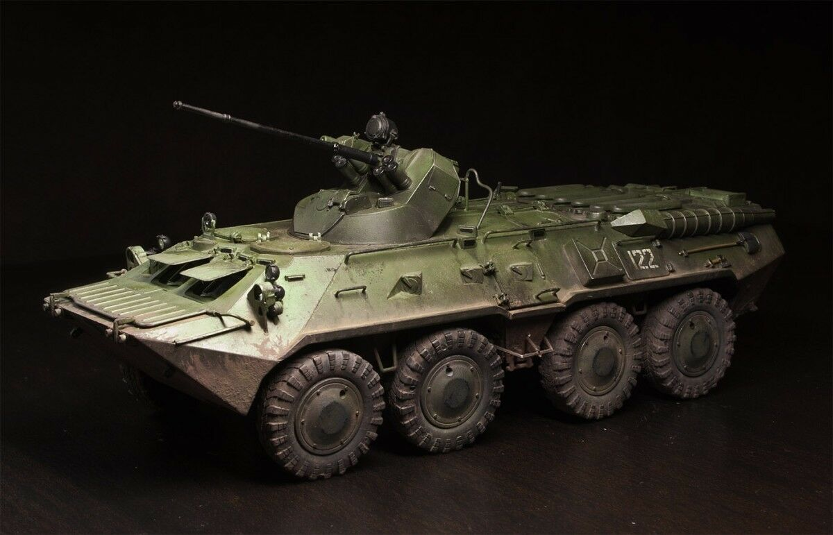 Soviet  BTR-80A 1 35 pro built