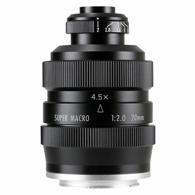 Zhongyi 20mm 3 Mitakon 4 f Lens 5X 2 4 micro for GH4 Super Mirrorless Macro FFrO5WqAxw