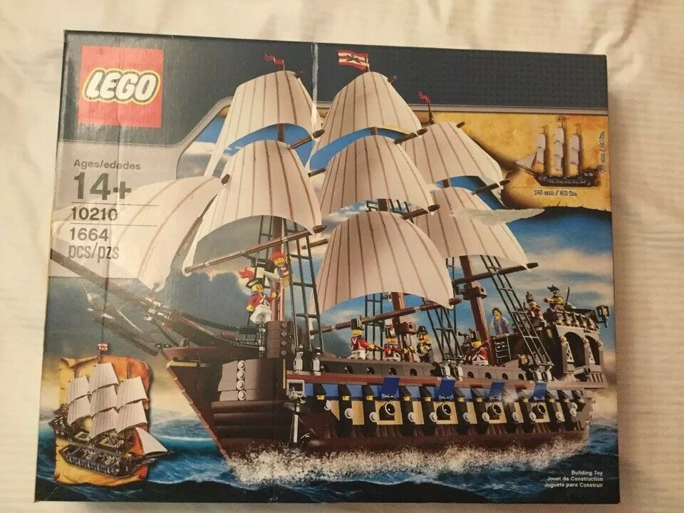 LEGO 10210 10210 10210 IMPERIAL FLAGSHIP complete NIB sealed new in box cd86f5