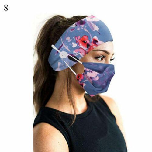 2Pcs//Set Fashion Women Headband Turban Yoga Sports Elastic Hairband Headwrap
