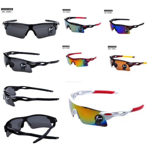 New Outdoor Cycling Bicycle Explosion-Proof Sunglasses Sports Dazzle Color