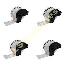 4 x ROLLS 29mm x 30.48M CONTINUOUS DK22210 QL500 QL 550 560 570 DK-22210 Labels
