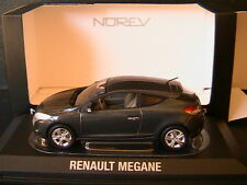 RENAULT MEGANE PHASE III COUPE 2009 DARK GREY METAL NOREV 517632 1/43 GRIS FONCE