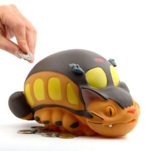 My Neighbor Totoro Studio Ghibli CatBus Cat Bus Coin Piggy Bank Figure Gifts