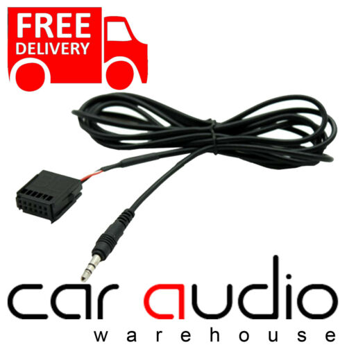 FORD S-MAX Mk1 2006 On 6000 CD Car MP3 iPod iPhone Aux In Input Cable Adaptor