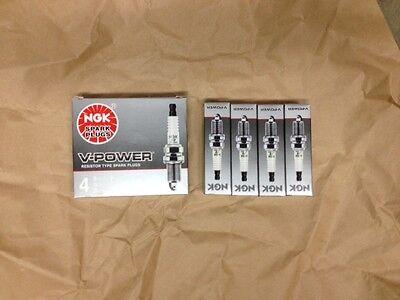 V-Power NGK 5155 Spark Plug Set of 4 FR4