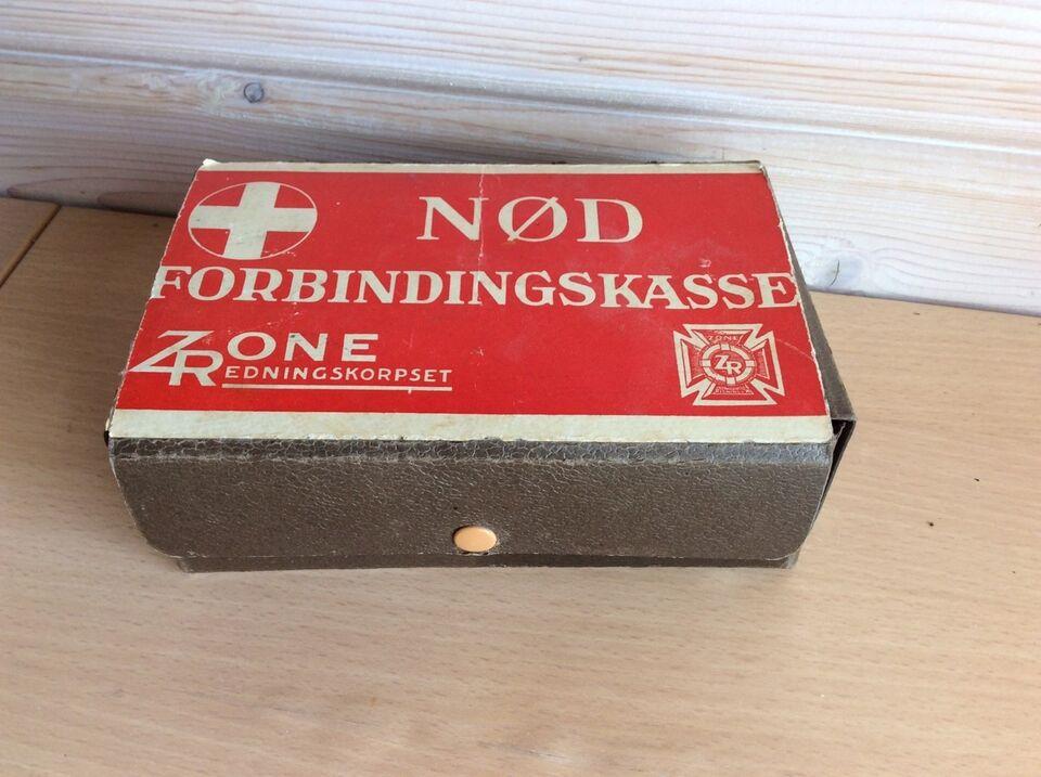 Andre samleobjekter, Forbindingskassen kasse