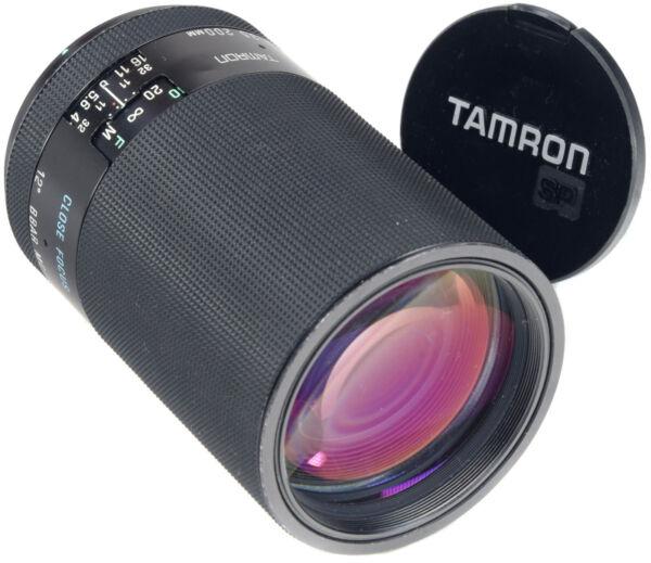 Copieux Tamron 200 Mm 3.5 - Adaptall Ii - (04b) Saveur Aromatique