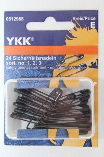 no 2 24 agujas de seguridad sort 1 3 de ykk Art 0512988