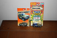 Lot of 2  Matchbox Across America 50th Birthday ALABAMA/ Hummer H3 NIP