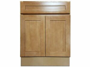 Details About Kingway 24 Inch Vanity Cabinet Elegant Maple