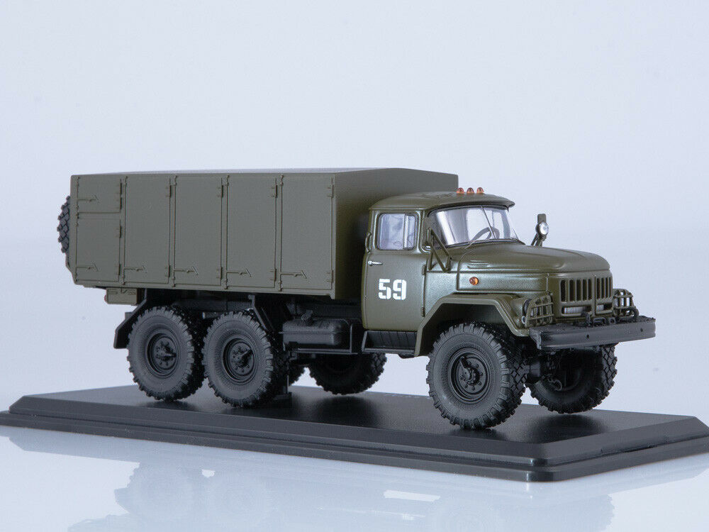 ZIL 131 military bread van SSM ModelPro 0045MP 1 43
