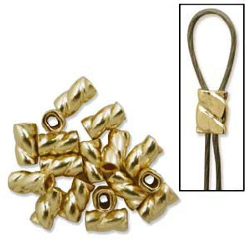 FIFTY 50 Gold-filled Twisted Crimps .010 USA MADE