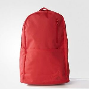 BRAND NEW $45 Adidas Versatile Block Backpack Ray Red AY5129