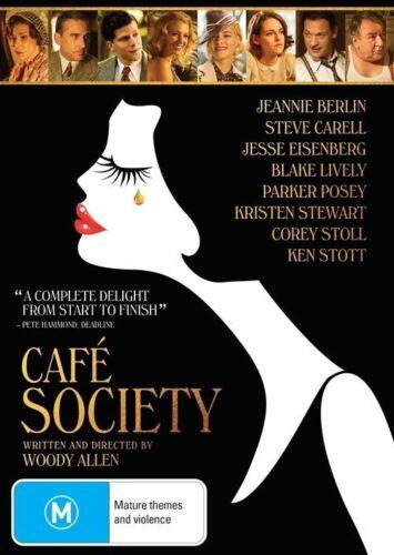 1 of 1 - Cafe Society (DVD, 2017) NEW