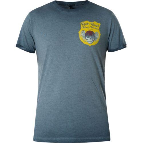 YAKUZA Premium T-shirt vintage 404 Bleu T-shirts