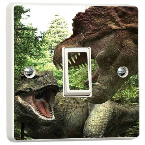 T Rex Dinosaur Light Switch Sticker Cover Vinyl Skin Wall Decal Decor