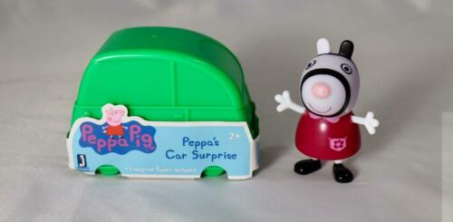 NEW Peppa Pig Car Surprise Camper Mini Blind Bag ZOE ZEBRA Mystery Figure RARE