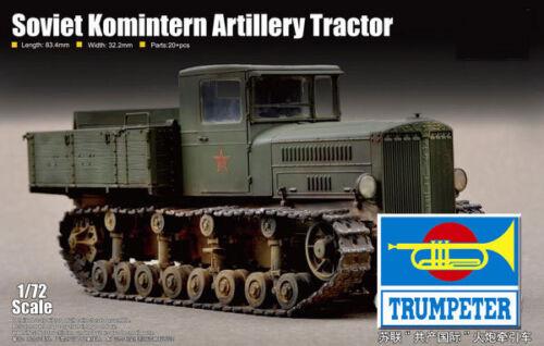Trumpeter 1//72 Soviet Komintern Artillery Tractor # 07120