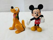 Disney Store Authentic PLUTO Cake TOPPER Toy CLUBHOUSE Junior Mickey DOG NEW