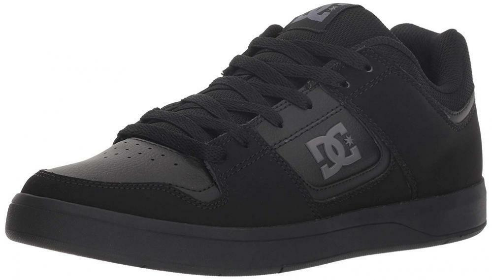 DC Men's Shoes Cure Skate Leather Lace Up Skateboard Casual