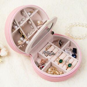With-Mirror-Storage-Case-Jewellery-Box-Felt-Hanging-Dorm-Bedroom-Bed-Mini-Pocket