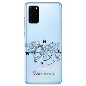 Coque Galaxy Note 10 LITE carte geometrique personnalisee
