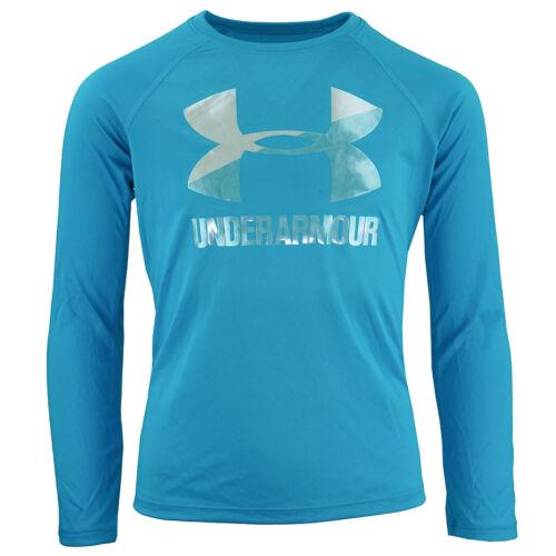 Under Armour Girls/' UA Big Logo L//S T-Shirt