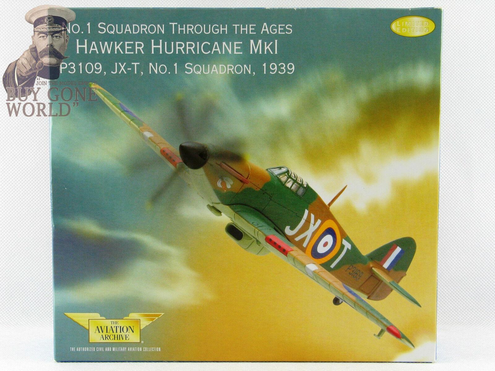 CORGI AA32012 Hawker Hurricane Mk I I I No1 ESC P3109/JX-T RAF le Wittering vrare 0034 | Supérieurs Performances  | Une Grande Variété De Modèles 2019 New  | Nouveau Produit  c8858a