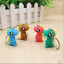 4Pcs-Set-3D-Cute-Cartoon-Dinosaur-Key-Chain-Women-Handbag-Charm-Pendant-Keyring thumbnail 1