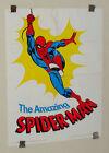 1970's Romita Amazing Spider-man Hudson Vitamins Marvel Comics promo poster:1975