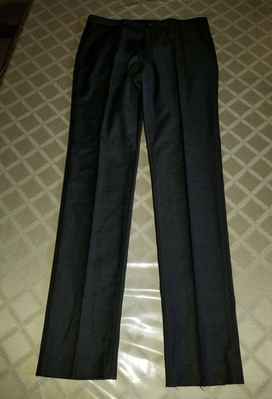 A.P.C.  WOOL DRESS PANTS DARK GREY   Mens Size medium
