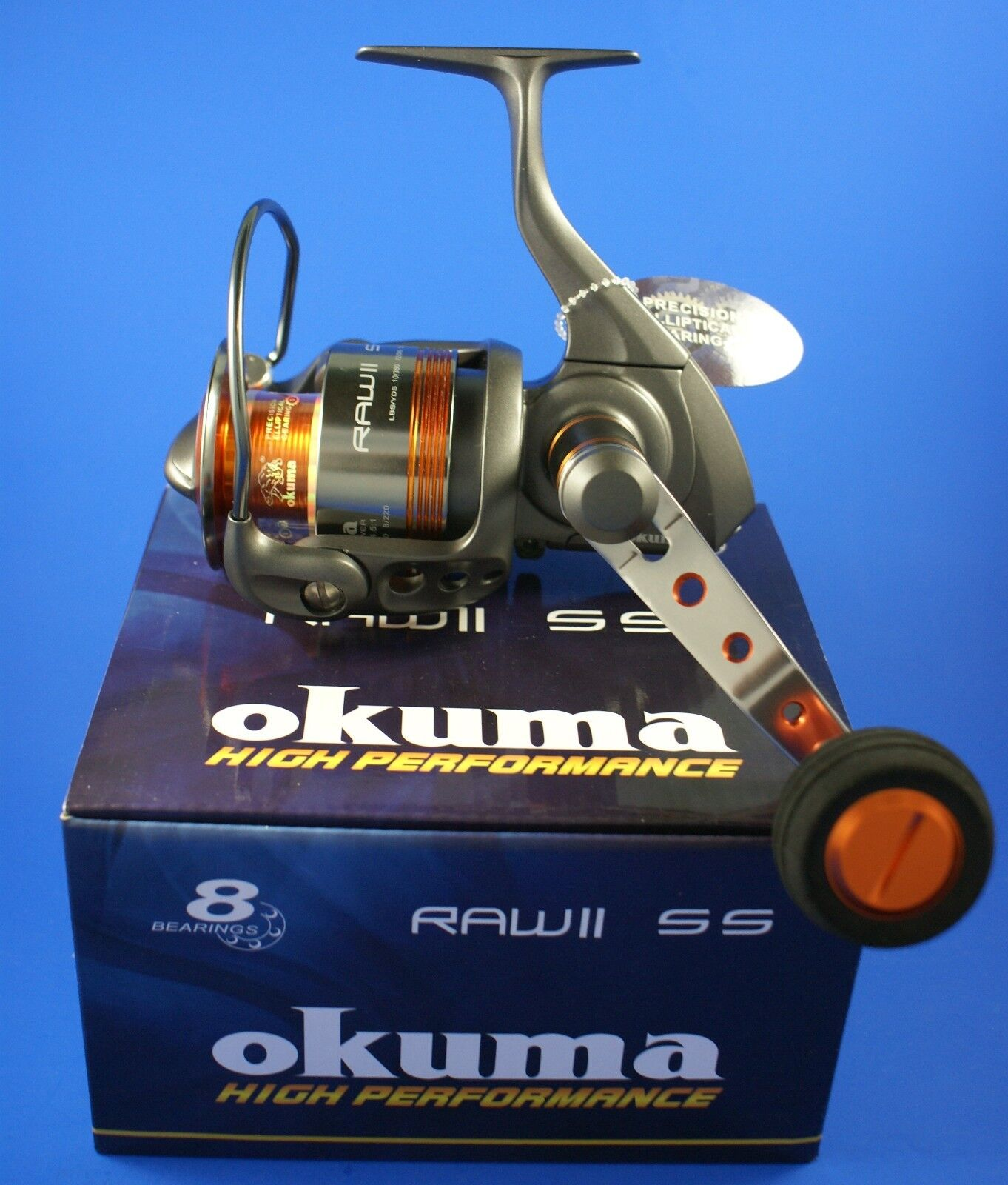 Okuma RAW II 55 FD 7+1BB 4.5 1 43970 Front Drag Fishing Reel