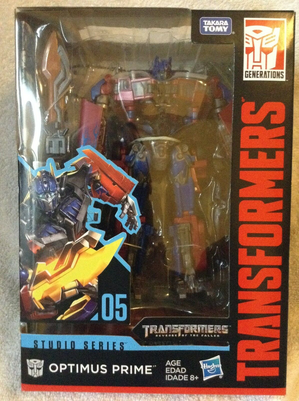 Transformers Studio Series Optimus Prime Hasbro MIB Hard to Find 2018