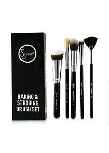 Sigma-Baking-amp-Strobing-5-Piece-Make-up-Cosmetic-Brush-Set-Make-up-box-damaged