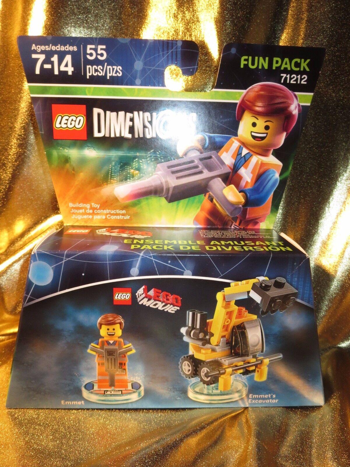 La Lego Película Emmet Excavadora Excavadora Excavadora Lego Set 55 Piezas Nuevo 71212  ahorra hasta un 80%